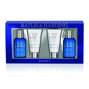 Baylis & Harding 4-Piece Men's Citrus Lime and Mint Set