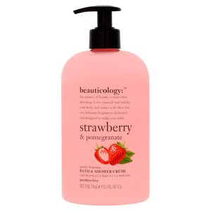 Baylis & Harding Beauticology Shower Creme Strawberry & Pomegranate 750ml