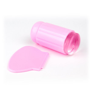 Makeupstores Silicone Stamp +Scratch Card # Pink