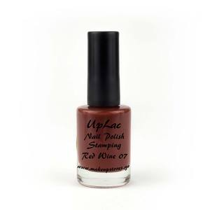 Makeupstores Βερνίκι Stamping # 07 Red Wine
