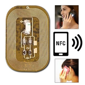 Makeupstores Luminous White LED Sticker NFC