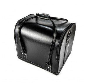Makeupstores Black Leather Trunk