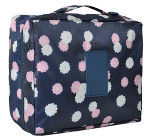Makeupstores Cosmetic Bag 2in1 # Navy Blue