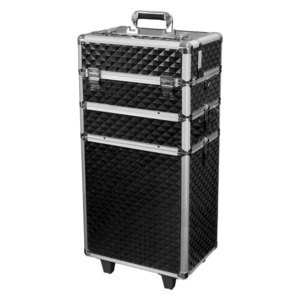 Makeupstores Trolley Cosmetic Case Professional 3D Black