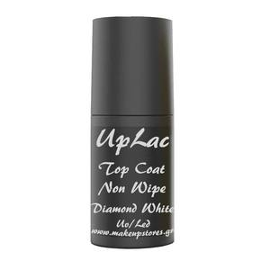UpLac No Wipe Quick Finish Diamond Effect White Uv/Led 6ml