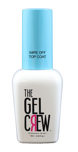 The Gel Crew Wipe Off Top Coat 10ml