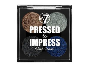 W7 Pressed to Impress Glitter Palette # Style Icon