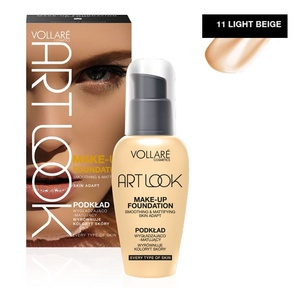 Vollare Make-up Foundation Art Look Smoothing & Mattifying # 11 Light Beige