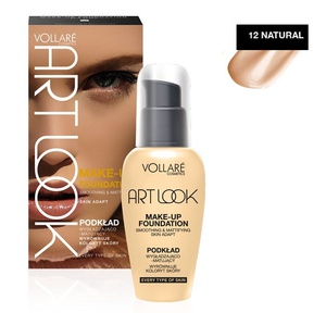 Vollare Make-up Foundation Art Look Smoothing & Mattifying # 12 Natural