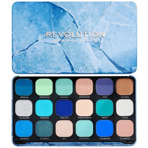Makeup Revolution Forever Flawless Eyeshadow Palette # Ice
