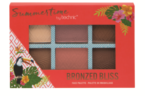Technic Summertime Face Palette # Bronzed Bliss