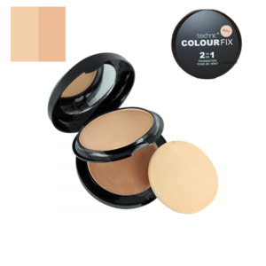 Technic Colour Fix 2 in 1 Pressed Powder & Cream Foundation # Buff 12gr-10gr