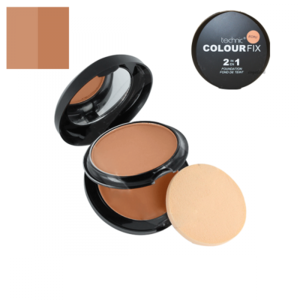 Technic Colour Fix 2 in 1 Pressed Powder & Cream Foundation # Ecru 12gr-10gr