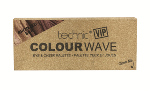 Technic VIP Colour Wave Eyes & Cheek Palette # Bronzed Bae 18,5gr