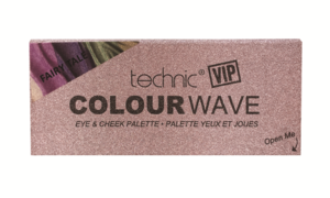 Technic VIP Colour Wave Eyes & Cheek Palette # Fairy Tale 18,5gr