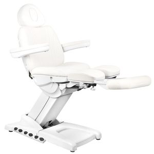 Azzurro Cosmetic Pedicure  Electric Chair 872S Pro Exclusive 3 Motor White