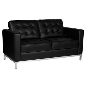 Gabbiano Waiting Room Sofa  BM18019 Black