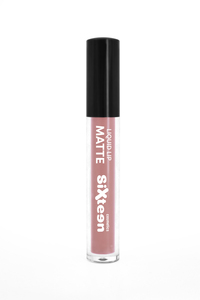 Sixteen Liquid Lip Matte # 537 Mountbatten Pink 5ml