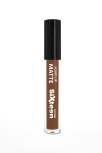 Sixteen Liquid Lip Matte # 543 Light Brown 5ml