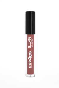 Sixteen Liquid Lip Matte # 544 Light Mahogany 5ml