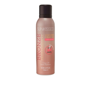 Sunkissed Bronze Professional Moisturiser Spray Tan # Light/Medium 150ml