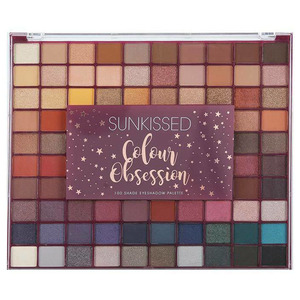 Sunkissed Colour Obsession 100 Shades Eyeshadow Palette 110gr