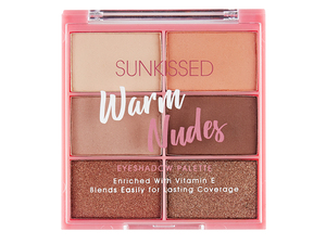 Sunkissed Warm Nudes Eyeshadow Palette 16.8gr