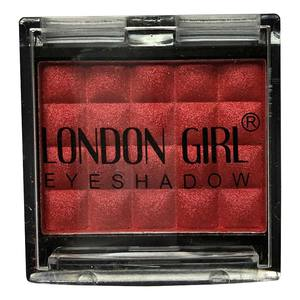London Girl Glitter Eye Shadow # 04 Red   4,5gr