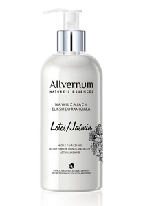 Allvernum Moisturising Elixir For Hand & Body 300ml # Lotus/Jasmine