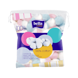 Bella Cotton Coloured Cotton Balls 100 pcs