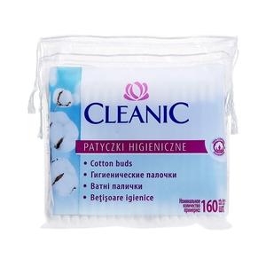Cleanic Cotton Μπατονέτες 160 τμχ