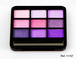 D'Donna Eyeshadow Palette # Purple Pink 10gr
