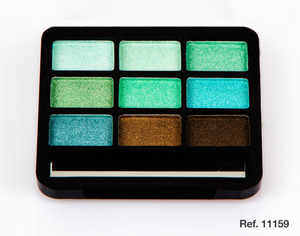 D'Donna Eyeshadow Palette # Green 10gr