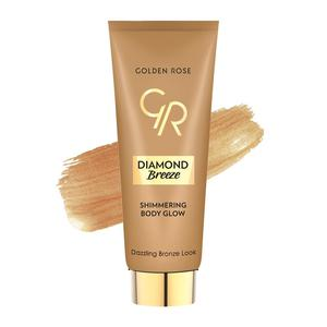 Golden Roze Diamond Breeze Shimmering Body Glow Self Tanning Cream # 02 Dazzle Bronze 75ml