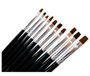 UpLac Gel Brush Set Of 10 pcs