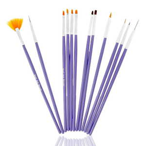 UpLac Brush Set 12 pcs Purple