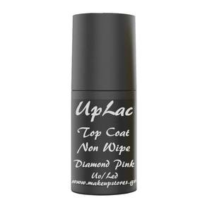 UpLac Top Coat Non Wipe Diamond Pink Uv/Led 6ml