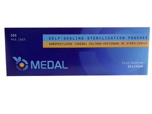 Medal Bags For Sterilized Tools 70mm x 230mm   200pcs