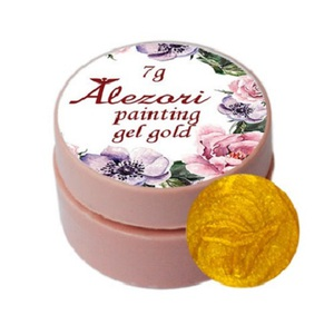 Alezori Painting Gel (paste) GOLD 7gr