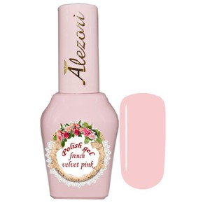 Alezori Gel Polish French Velvet Pink 15ml