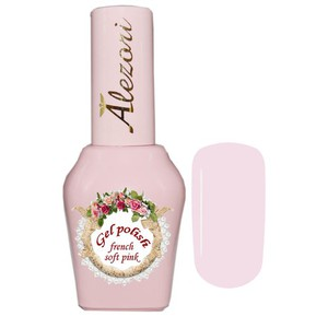 Alezori Gel Polish French Soft Pink 15ml
