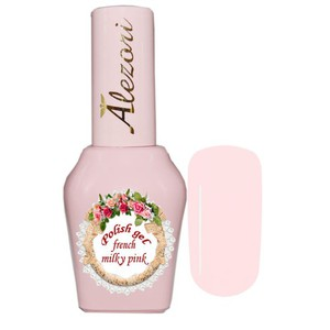 Alezori Gel Polish French Milky Pink 15ml