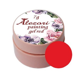 Alezori Painting Gel (paste) RED 7gr