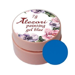 Alezori Painting Gel (paste) BLUE 7gr