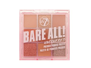 W7 Bare All Pressed Pigment Palette # Uncovered 8.1gr
