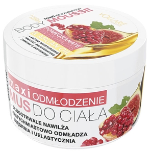 Vollare Sugar Body Mousse With Pomegranate & Fig Extract And Argan Oil 250ml