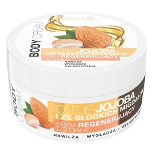 Vollaré Regenerating Body Cream With Jojoba And Sweet Almond Oils 175ml