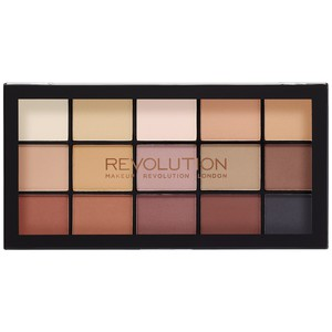 Makeup Revolution Re-Loaded Eyeshadow Palette # Basic Mattes 15x1,1gr
